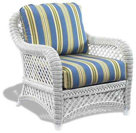Wicker Accent Chair White Wicker Chair Lanai Tropical Armchairs And Accent Chairs By Wicker Paradise