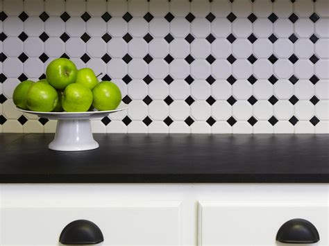 Black And White Kitchen Backsplash by A Kitchen Crafted For The Eco Friendly Hgtv