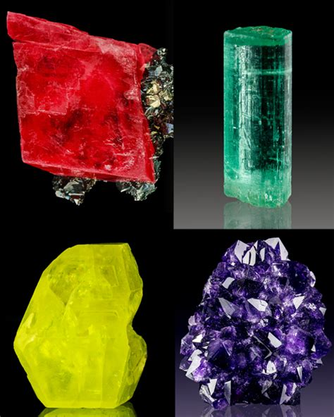 what color is mineral what causes color in minerals