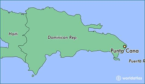 location of republic on world map where is punta cana the republic punta cana