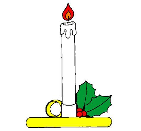 candela disegno disegno candela di natale colorato da utente non