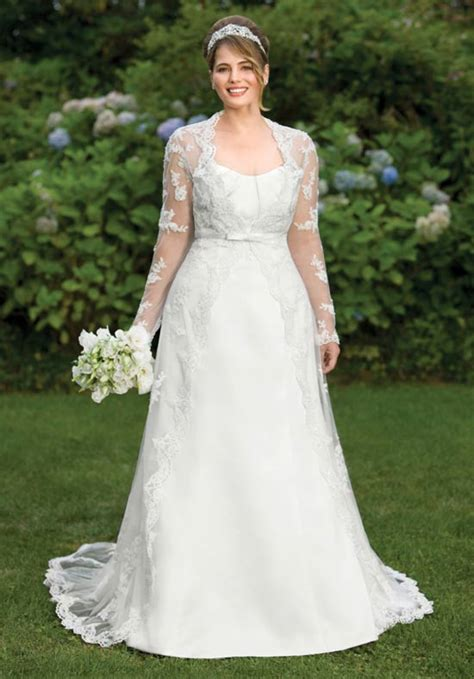 Plus Size Modest Wedding Dresses by Modest Wedding Dresses Dressed Up