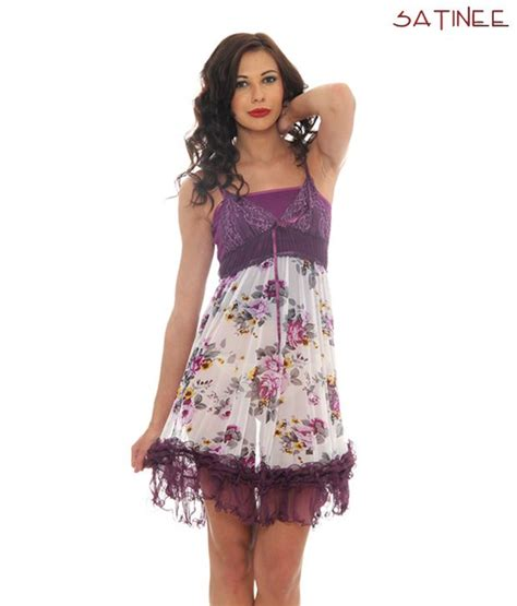 Dress Doly Kotak buy satinee frill purple baby doll dress sat 1255 at best prices in india snapdeal