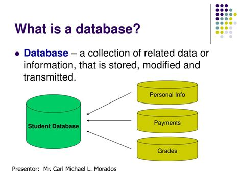 what is a ppt basics of database programming with vb6 powerpoint