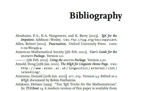 what is the meaning of bibliography