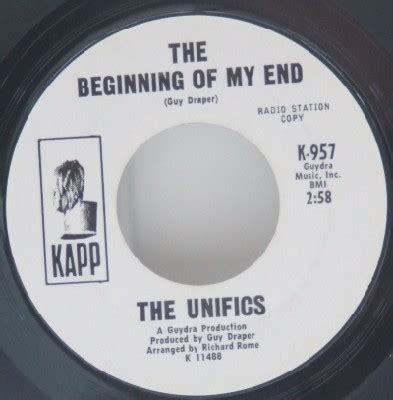 The Beginnings Of A Master New Funk Classic Master The Unifics The Beginning Of My End