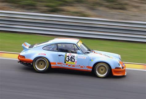 Gulf Porsche by Gulf Porsche 911 Rsr Mitgezogen W 228 Rend Des Yt Rennen 2