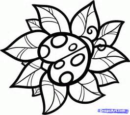 How To Draw A Ladybug Tattoo Step 7 sketch template