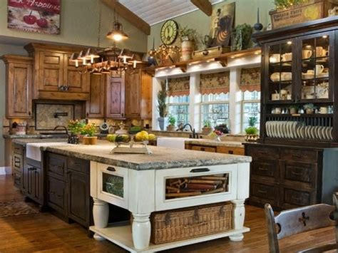 Decor Ideas For Kitchens Primitive Kitchen Decor Kitchen Decorating Ideas Primitive Decor