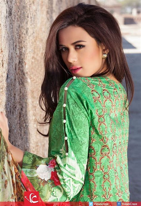 Sahira Blouse 2 cross stitch lawn collection 2016 clothes