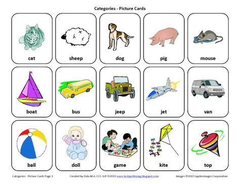 speech therapy worksheets for preschoolers 75 best catagories sorting describing images on language autism and compare and