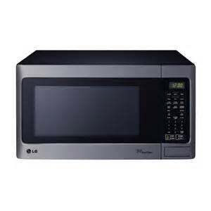 lg 1 5 cu ft 1 100 watt countertop microwave stainless