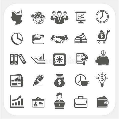 Vector Business Icons Set Royalty Free Stock Photos Image 1095468 Business Finance Icons Set Stock Vector Illustration Of Data Graph 32802619