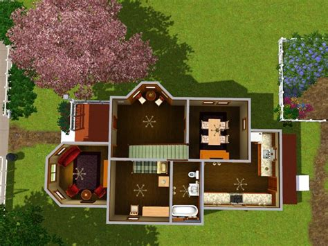 1 story small house plans