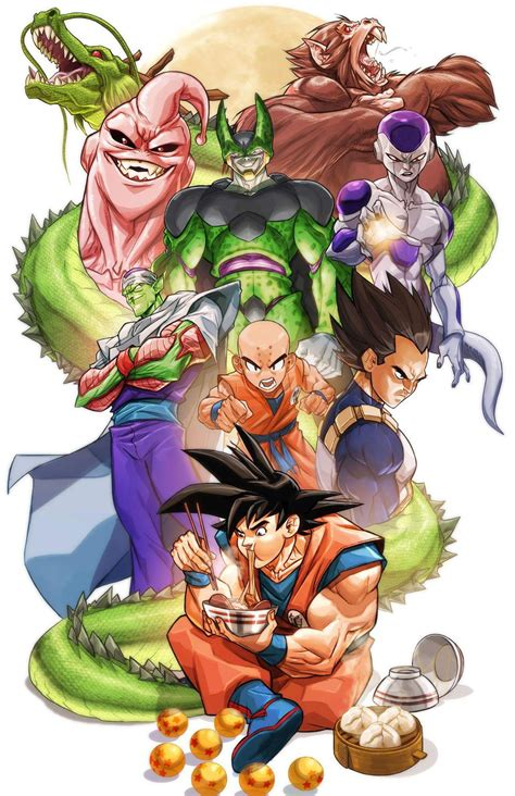 dragon ball by miacabrera on deviantart