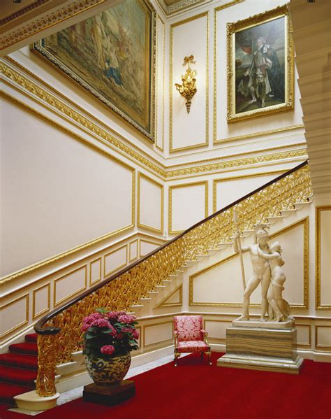 Floor Plan Buckingham Palace by Ministers Landing Amp Staircase Buckingham Palace Castles