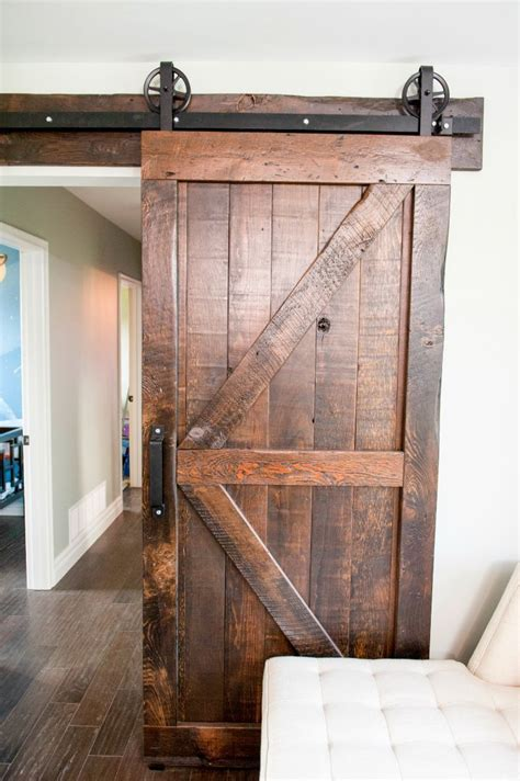 Room Transformations From The Property Brothers Interior Barn Door For Interior