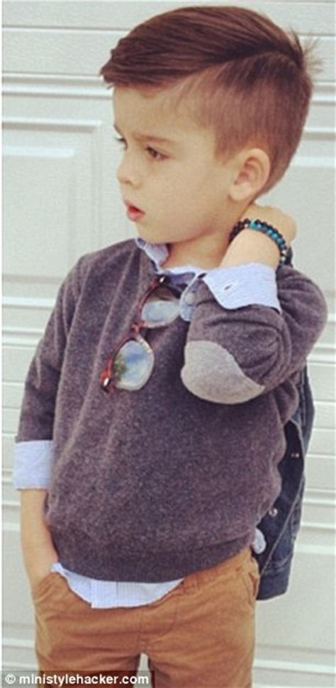3 yr old boy haircuts ryan gosling and pharrell taken on by style hacker 4