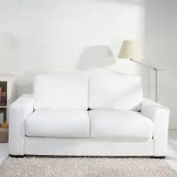 White Leather Sofa Bed Winston White Faux Leather Sofabed Next Day Delivery Winston White Faux Leather Sofabed