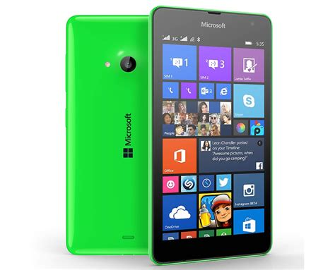 Microsoft Lumia 535 microsoft lumia 535 officially announced will be launched this month at an affordable price