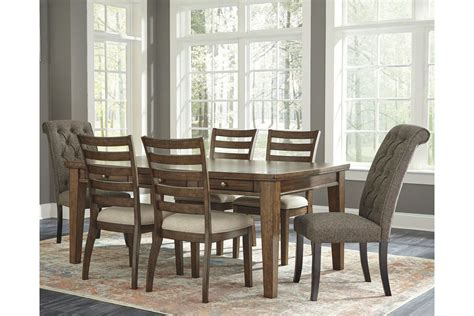 flynnter dining table   chairs ashley furniture
