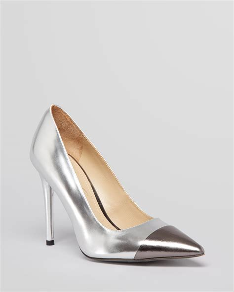 kenneth cole high heels kenneth cole cap toe pointed toe pumps bonita high heel in