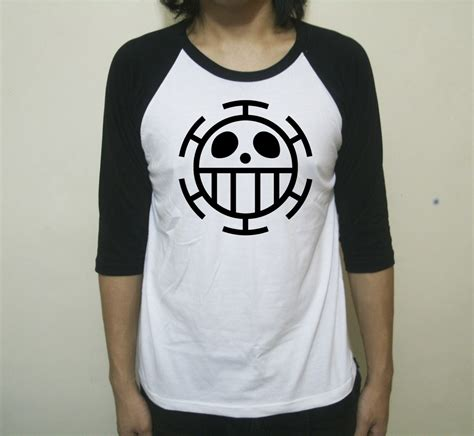 Kaos Anime Raglan One trend model kaos distro raglan terbaru 2016
