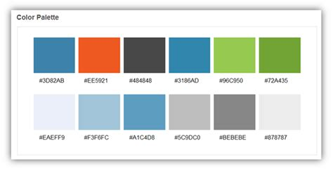 colour schemes for websites free web design tools to style your website caspio blog