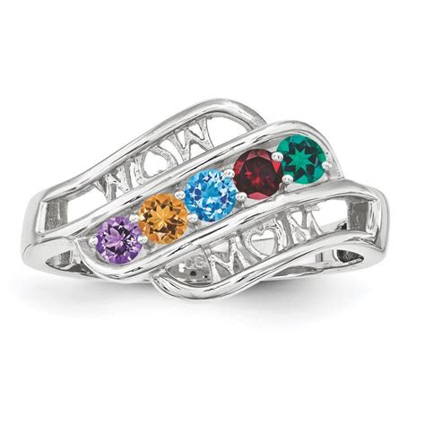 silver 2 to 5 s ring