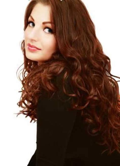 perm hair style for fine layered hair 20 perm styles long hairstyles 2016 2017