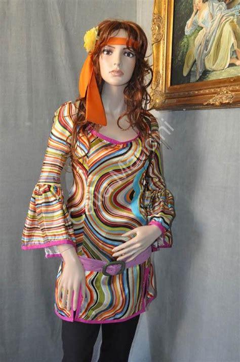 vestito da figlia dei fiori abito di carnevale hippy figlia dei fiori
