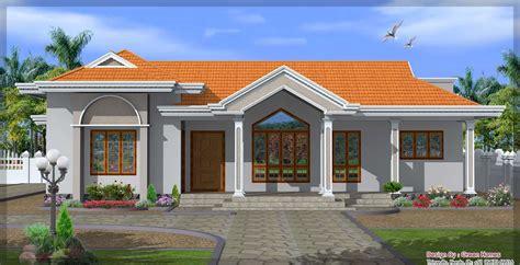 single floor house design   sqft
