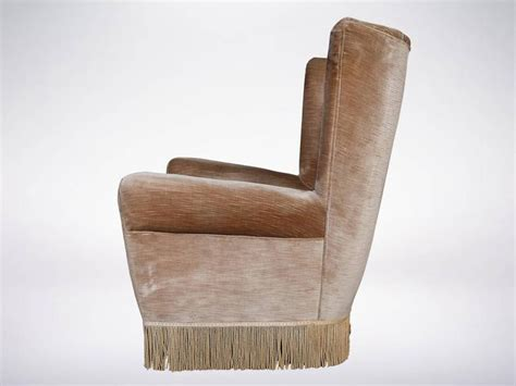 Cozy Armchair by Cozy Wingback Armchair In The Style Of Paolo Buffa From
