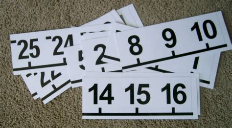 printable number line banner math love made 4 math printable number line poster