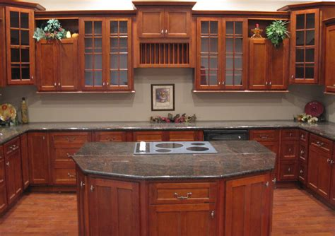 cherry cabinets in kitchen kitchen and bath cabinets vanities home decor design ideas