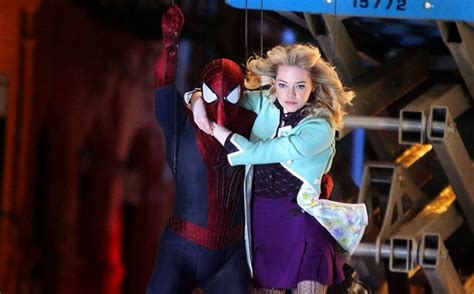 emma stone killed in spiderman the amazing spider man 2 review a tangled web of emotions