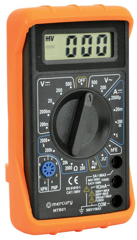 Www Multitester digital multitester multimeter voltmeter 19 range 7 func