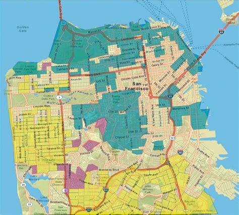 san francisco district map 2014 gis tools empower san francisco s green retrofit caign