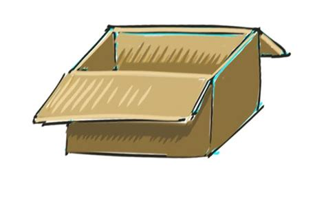 doodle drawing boxes how to draw a box