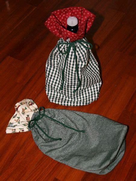porta sacchetti stoffa legno e stoffa portatutto