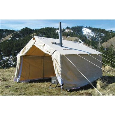 magnum canvas wall tent 16 x 20 magnum 174 16x20x5 canvas wall tent 143158 outfitter