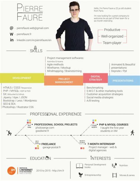 Beautiful Resume by Beautiful Resume Cv Faure 2014