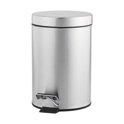 stainless steel rubbish bin kmart