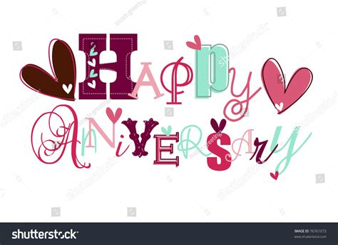 Marriage Anniversary Card Vector by Happy Anniversary Card Eps 10 Stock Vector 76761073