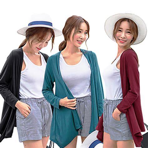 Jumbo Tunic korean style minibel shawl cardigan baju atasan wanita