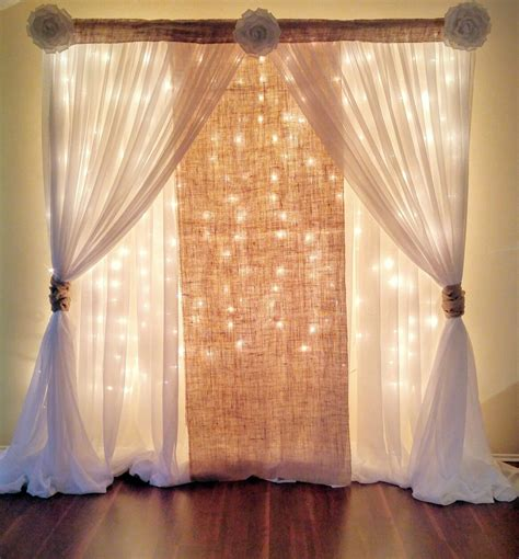 Wedding Backdrop Curtains Breathtaking 44 Unique Stunning Wedding Backdrop Ideas Wedding Photos Pinterest