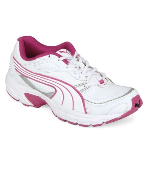 white sport shoes price in india buy white