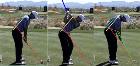 learn golf swing tiger woods golf swing plane pictures setup top of