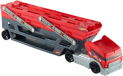 Wheels Truk Hauler Kuning wheels ckc09 mega hauler truck ebay