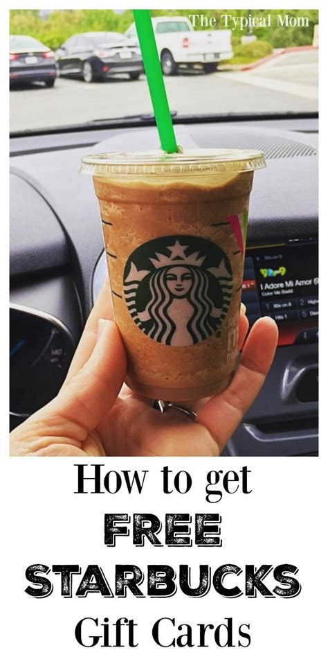 How To Get A Free Starbucks Gift Card - 25 best ideas about free starbucks gift card on pinterest starbucks gift ideas